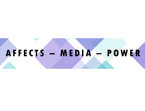 Affects – Media – Power | Conference Berlin June/July 2017