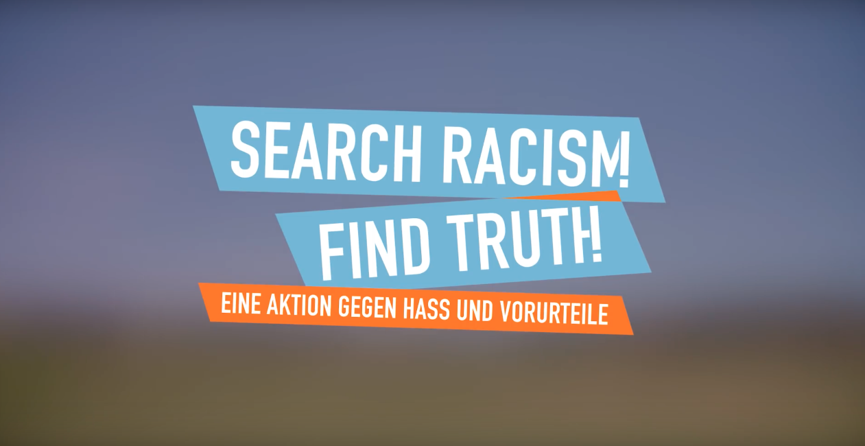 Search racism. Find truth.