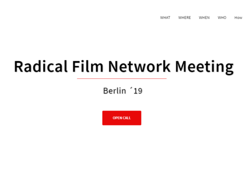 What is radical film? – Call for Contributions