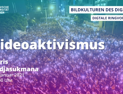#Videoaktivismus – digital lecture by Dr. Chris Tedjasukmana as part of the TU Dresden lecture series 'Bildkulturen des Digitalen'
